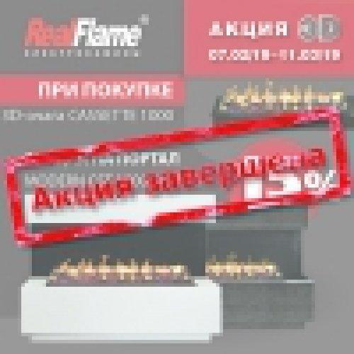 Акция на электрокомплект RealFlame
