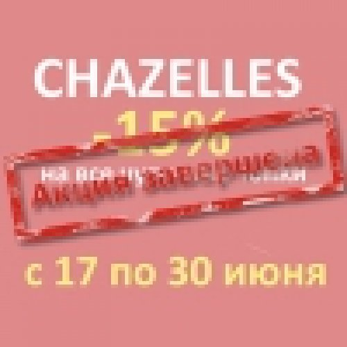 Акция на каминные топки Chazelles