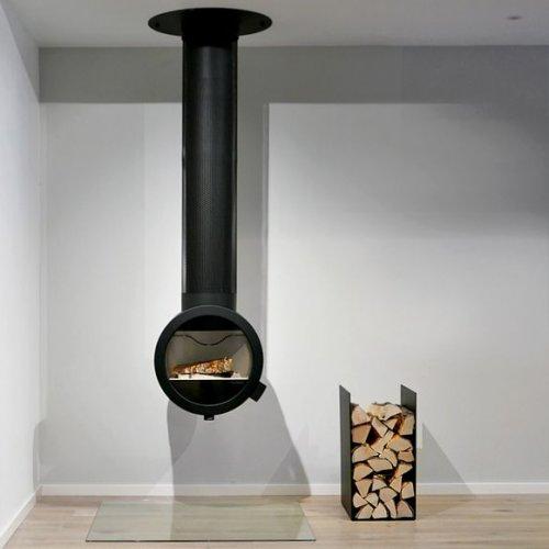 Me Ceiling - металлическая печь для крепления к потолку
