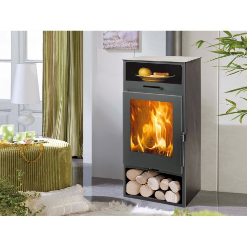 Nijar EcoDesign - Пристенная печь с теплой нишей