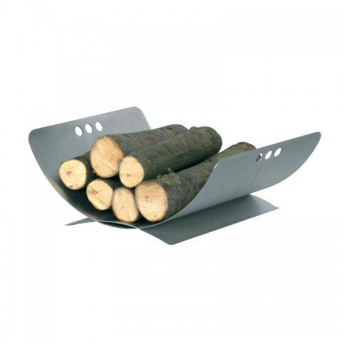 арт. 90.901E (хром) - хромированная подставка для дров