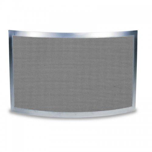арт. 90.986 (хром) - закругленный экран из нержавеющей стали