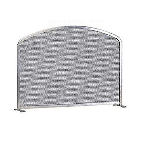 арт. 90.982 (хром) - каминный экран с мелкой сеткой