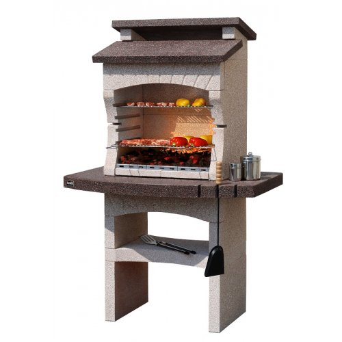 TARRAGONA CRYSTAL - компактная уличная печь из мраморных гранул