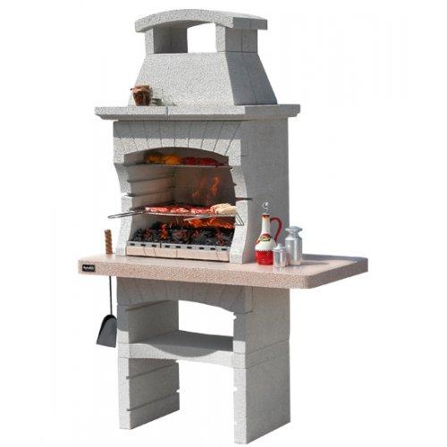KENYA LX CRYSTAL - уличная дровяная печь с многоуровневой решеткой