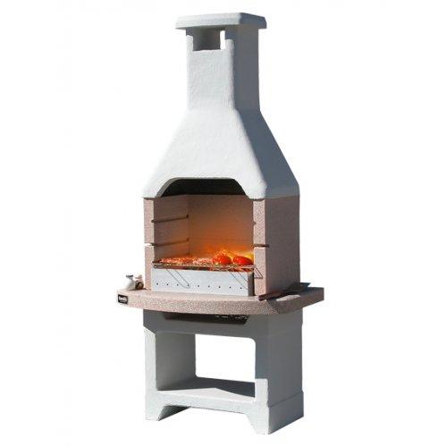 OASI CRYSTAL - мраморная уличная печь для загородного участка
