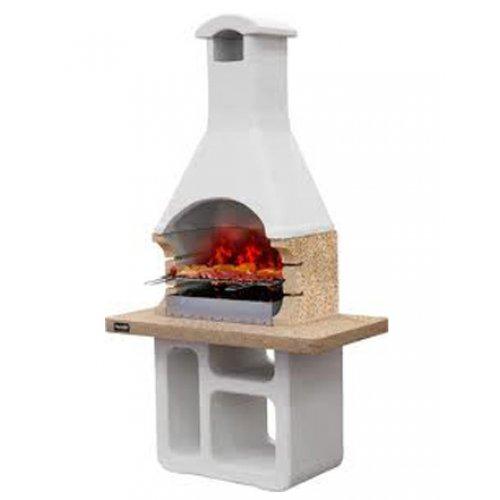 VICTORIA CRYSTAL - барбекю с увеличенной столешницей из полированного мрамора
