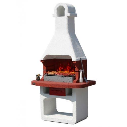 COMO - барбекю из огнеупорных материалов, выдвижной зольник