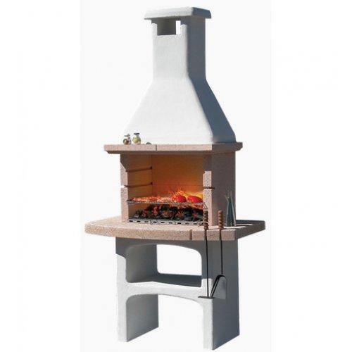 Touareg - барбекю из бетонизированного мрамора со столешницей