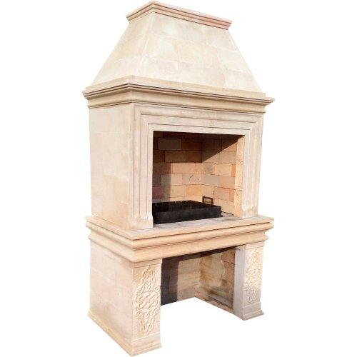Монако - Функциональная модель барбекю из натурального камня