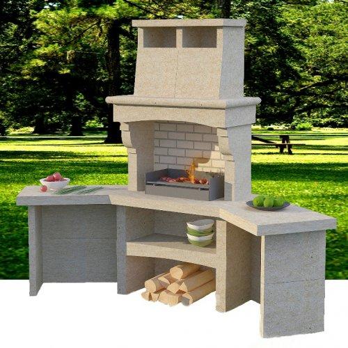 Гранд - Барбекю с конструкцией из армированного керамзитного бетона