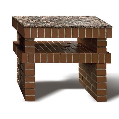 Секция Стол из кирпича