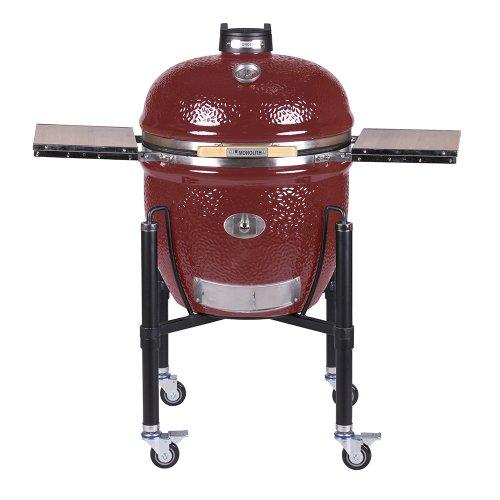 Monolith LeChef Pro 2.0 Red (красный) - функциональная печь-гриль на колесиках