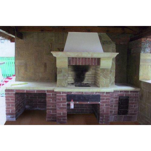 Модель для приготовления различных блюд на открытом воздухе