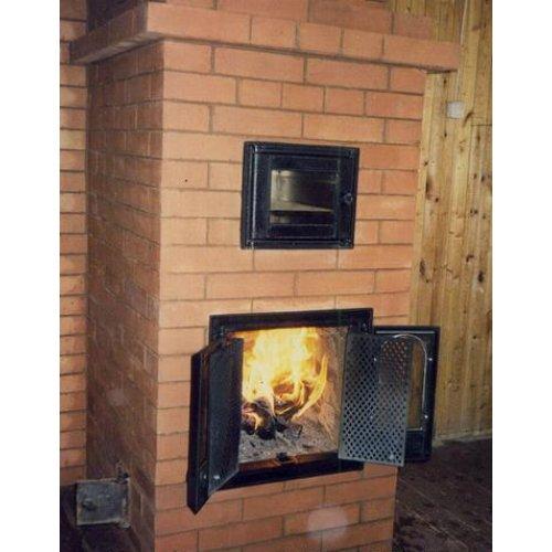 Кирпичная печь для загородного дома