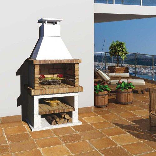 Estivella (Естивелла) - Компактная модель барбекю с очагом из жаропрочного кирпича