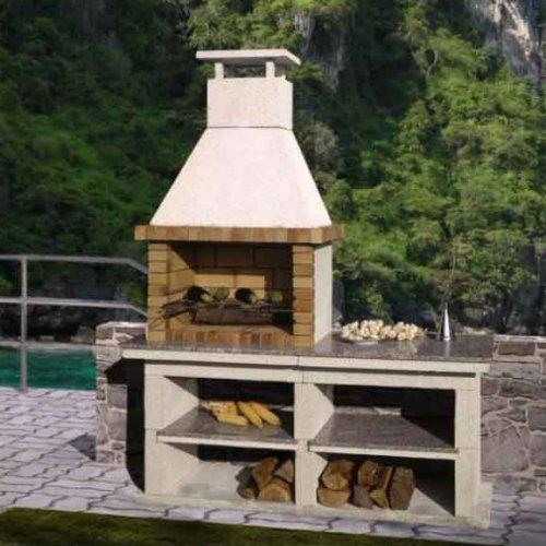 Segarra (Сегарра) - Компактная модель из огнеупорного кирпича и несгораемого бетона
