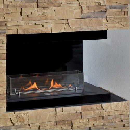 Ebios-fire 2R - Пристенно-угловой камин со стальным корпусом