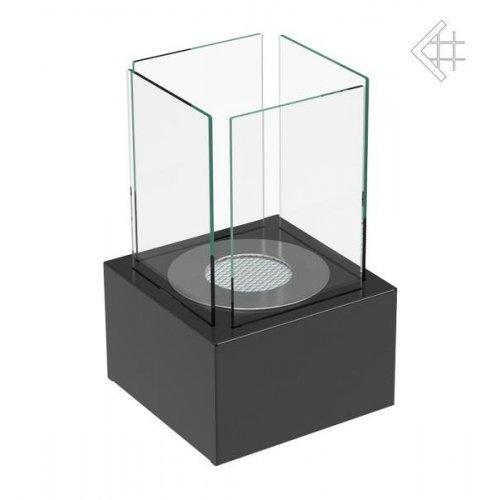 TANGO 1 черный - настольный камин с биовкладышем