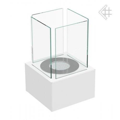 TANGO 1 белый - био-камин с корпусом белого цвета