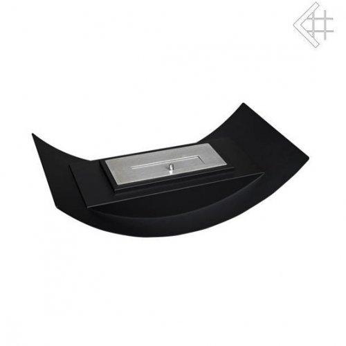MISA MINI черный - компактный настольный камин с биотопкой