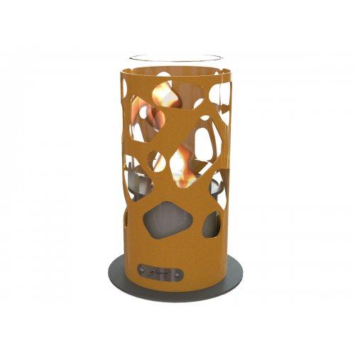 Tile Tabletop (Тиль-Тебл) - Стильный камин со стальным ажурным корпусом
