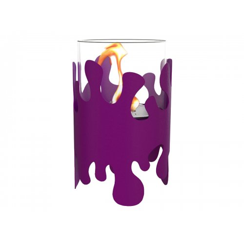 Splash II (Сплеш II) - Напольный биокамин со стальным корпусом в цвете
