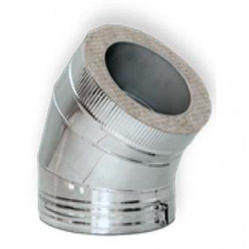 Отвод 45° DOTH D250 с изоляцией