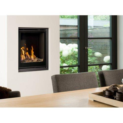 Unica-2 55 - Вертикальный камин газовый для квартиры