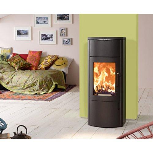 BONO XTRA сталь - Стальной камин с системой аккумуляции тепла