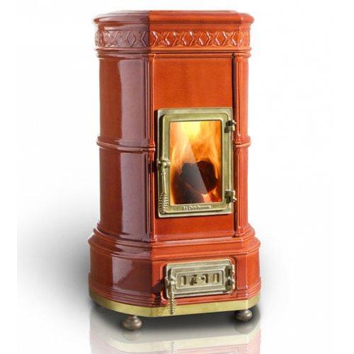 Grand'Ovale (Гранд Овал) - керамическая печь с большой дверцей из стекла