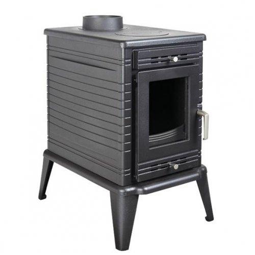 Koza/K10/термостат - современная буржуйка из стали и чугуна