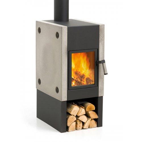 Boxer Plus - Отдельностоящая печка с отсеком для дров