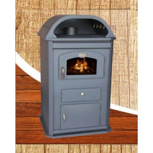 CHIC 3 - Дровяная камин-печь с корпусом из огнепрочной стали