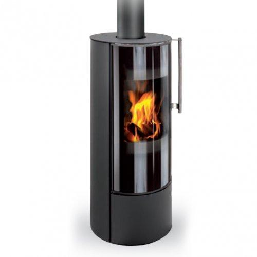 Romotop IRUN N металл - отопительная каминная печь из жаропрочной стали