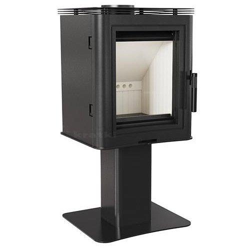 KOZA/K5/S/N - компактная печь с большим смотровым окном