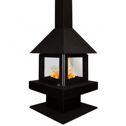 Эклипс 4D (K 181, К 185) - четырехсторонняя печь из стали с жаростойким покрытием