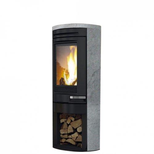 TALLY PIETRA OLLARE - низкая печь из стали и камня