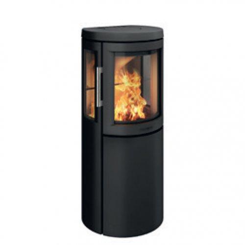 2630C - камин-печь с боковыми стеклянными вставками