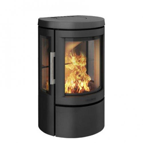 2610C - камин-печь с трехсторонним стеклом