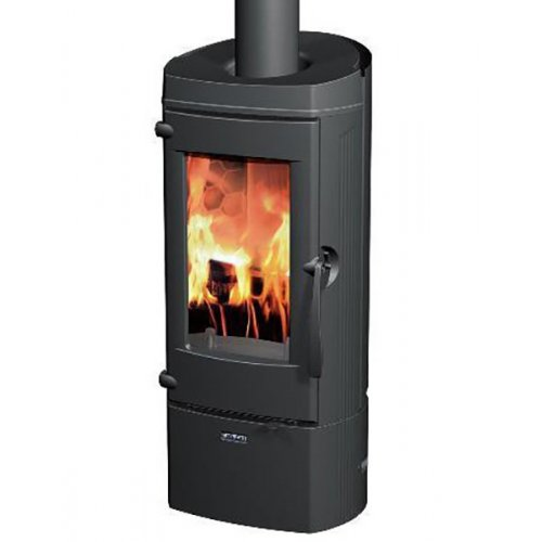 Lytham 2 (Литам) - Цельночугунная дровяная печь черного цвета