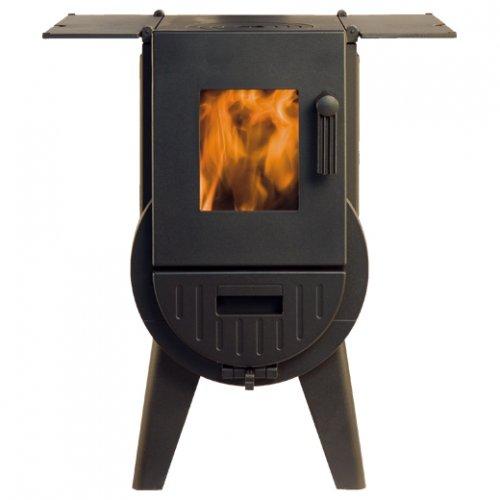 IRON-DOG № 3 отапливаемая печь с варочной плитой