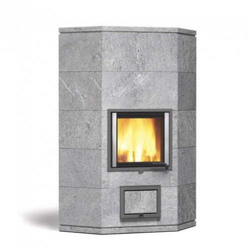 Joya angolo - Дровяная печь-камин из гладкого камня