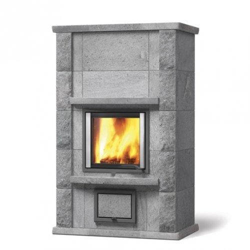 Joya-2 - Каминная печка с установкой вдоль стены