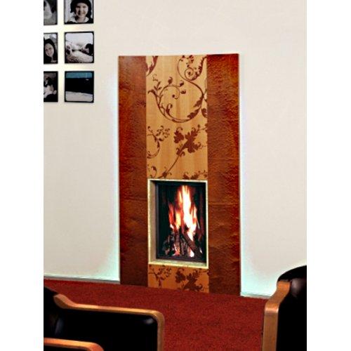 Ornament - Орнамент вертикальная облицовка с цветочным орнаментом