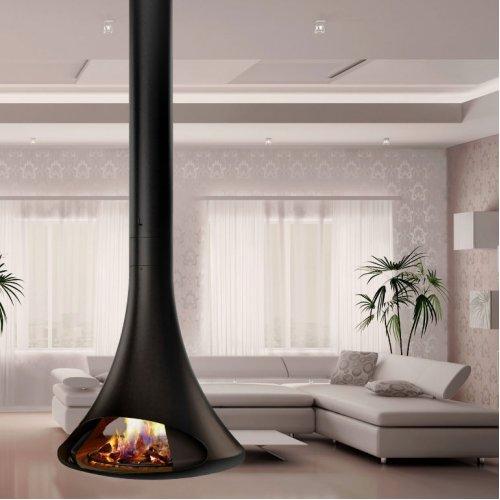 DORIA Central - Подвесная модель, открытый огонь