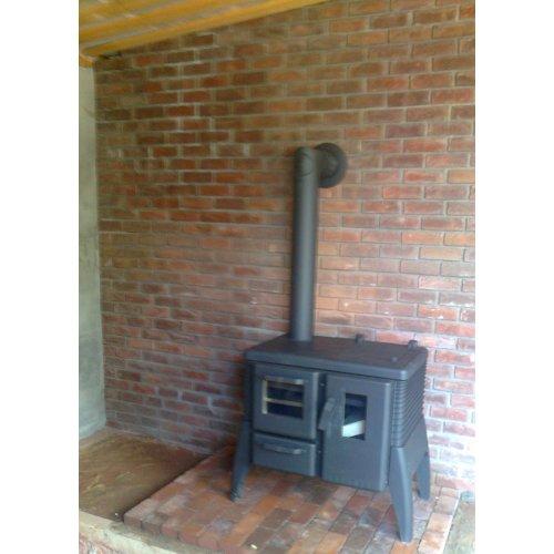 Отопительная печь из огнепрочной стали