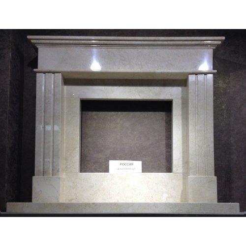 Облицовка в мраморе Крема Нова