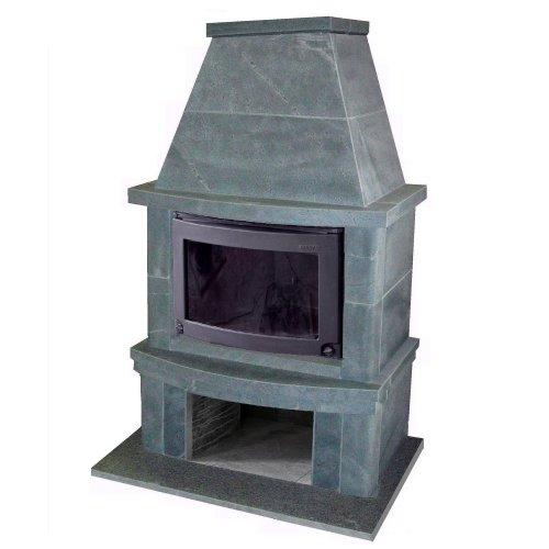 FS 7-2 Современный каминный портал из талькомагнезита толщиной 50 - 100 мм