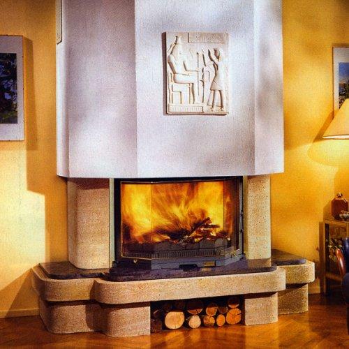 Montoire (Монтоир) Современная облицовка с нишей для дров